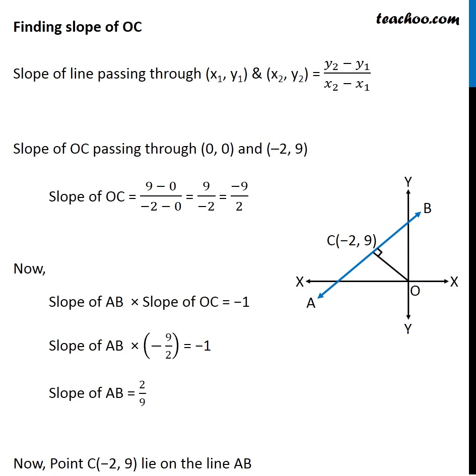 Ex 10.2, 15 - Chapter 10 Class 11 Straight Lines - Part 2