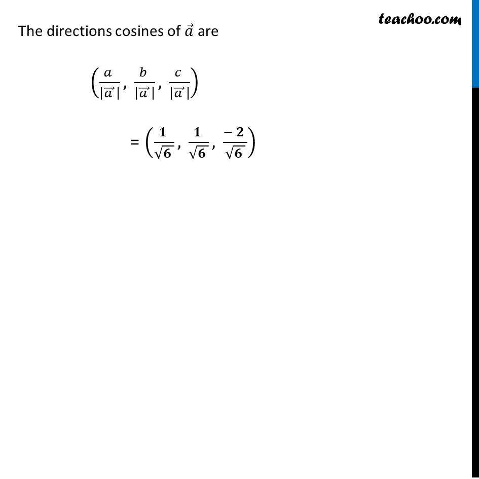 Example 9 - Chapter 10 Class 12 Vector Algebra - Part 2
