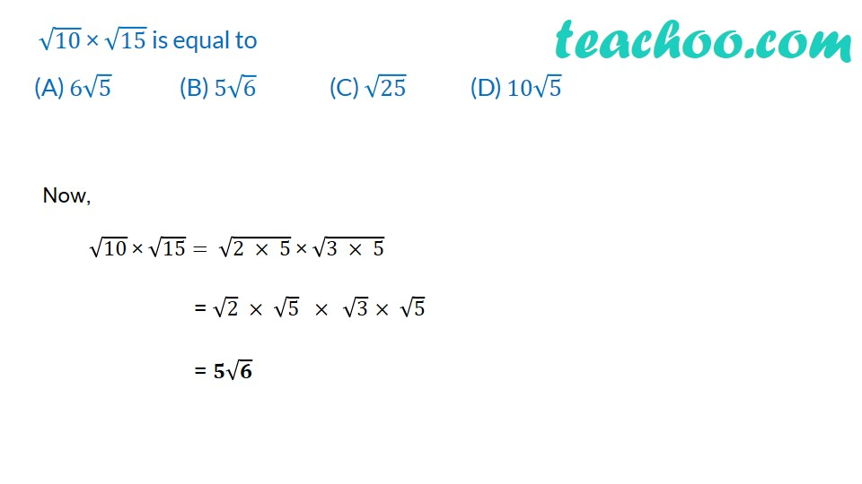 Multiple Choice Questions - Chapter 1 Class 9 Maths (with Videos) - Te