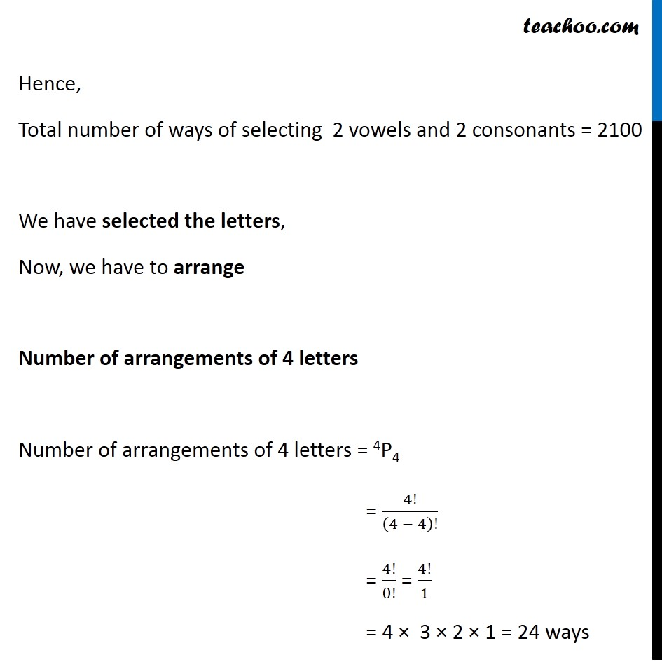 Misc 6 - Chapter 7 Class 11 Permutations and Combinations - Part 2