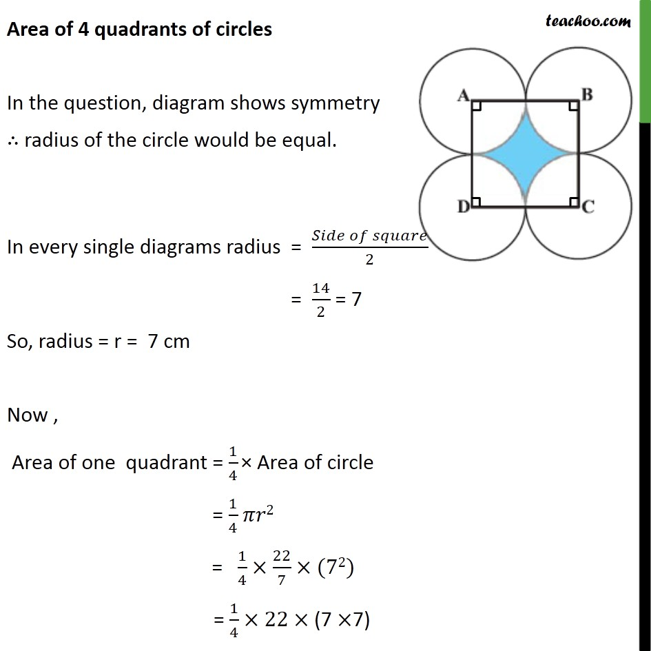 Ex 12.3, 7 - Chapter 12 Class 10 Areas related to Circles - Part 2