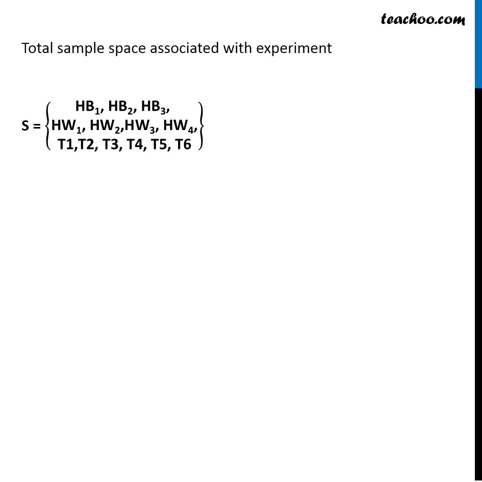 Example  4 - Chapter 16 Class 11 Probability - Part 3