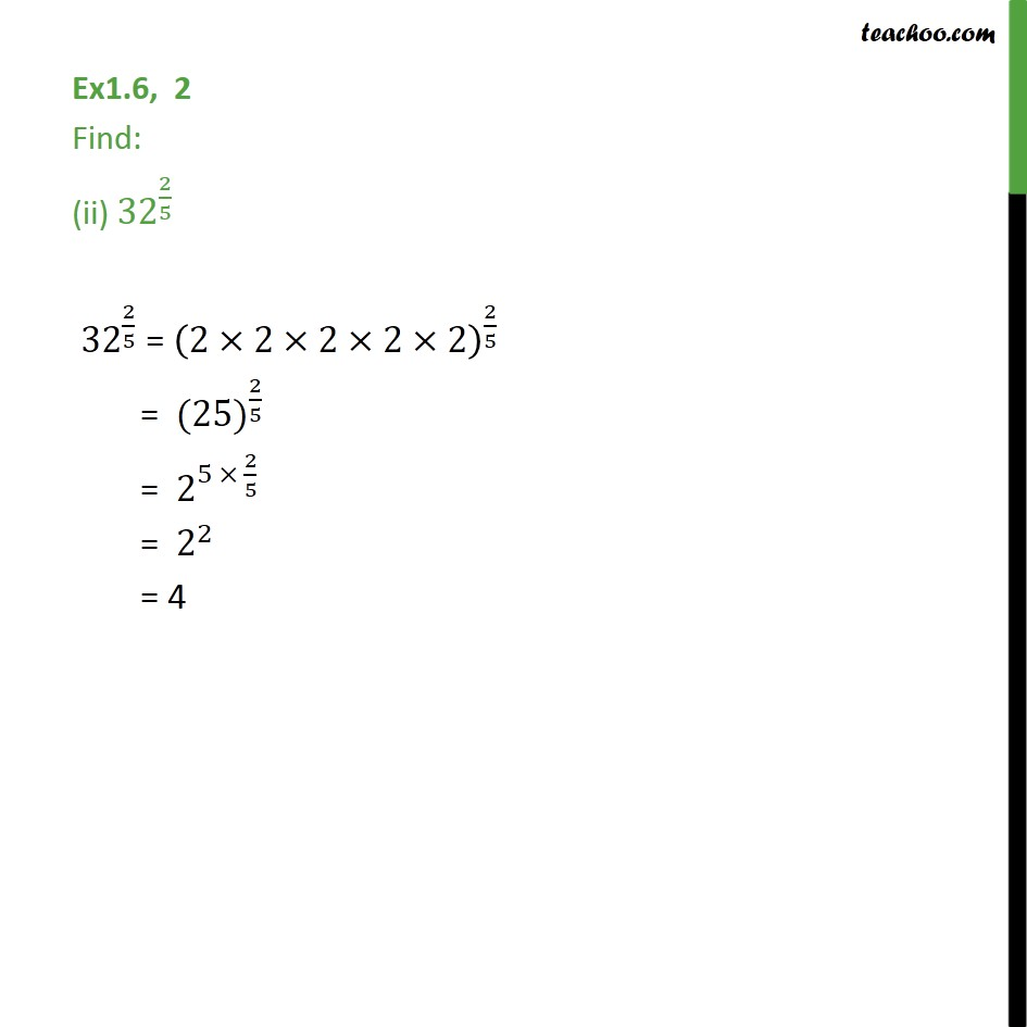 Ex 1.6,2 - Chapter 1 Class 9 Number Systems - Part 2