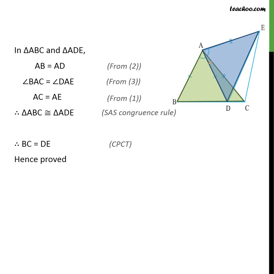 Ex 7.1, 6 - Chapter 7 Class 9 Triangles - Part 2
