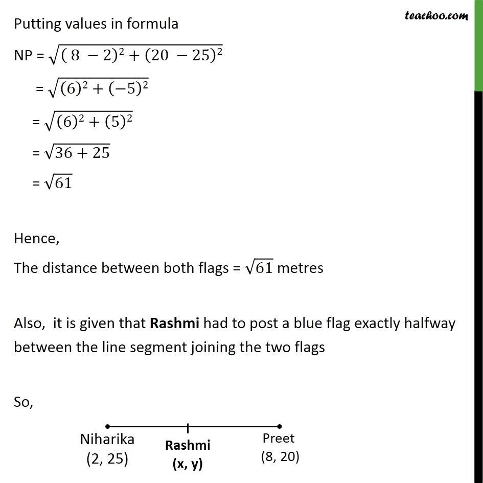 Ex 7.2, 3 - Chapter 7 Class 10 Coordinate Geometry - Part 4
