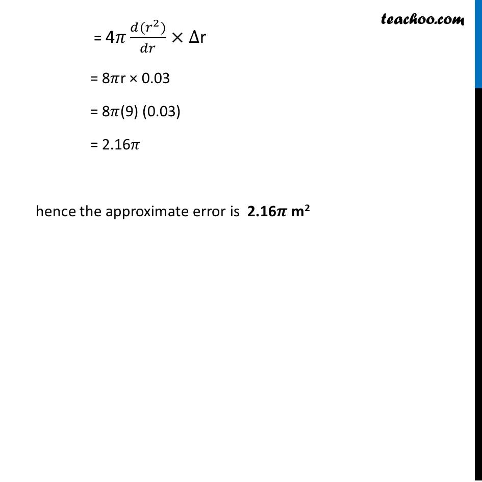 Ex 6.4,7 - Chapter 6 Class 12 Application of Derivatives - Part 2