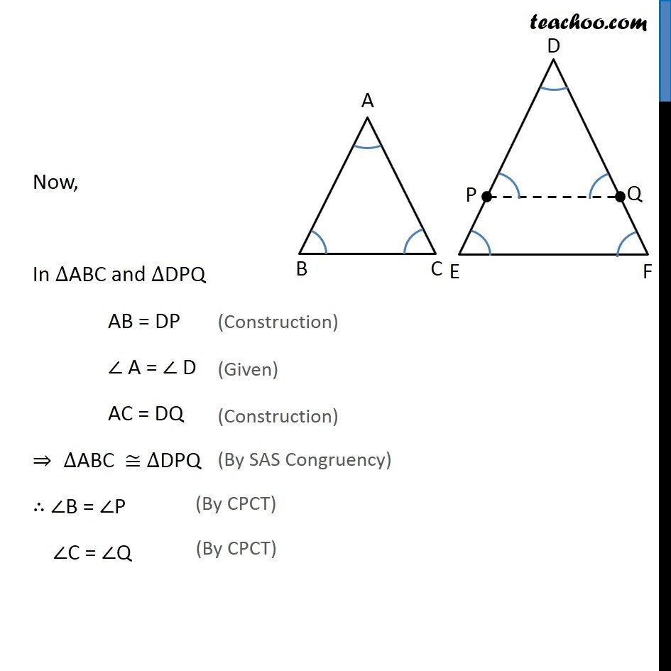 Theorem 6.5 - Chapter 6 Class 10 Triangles - Part 4