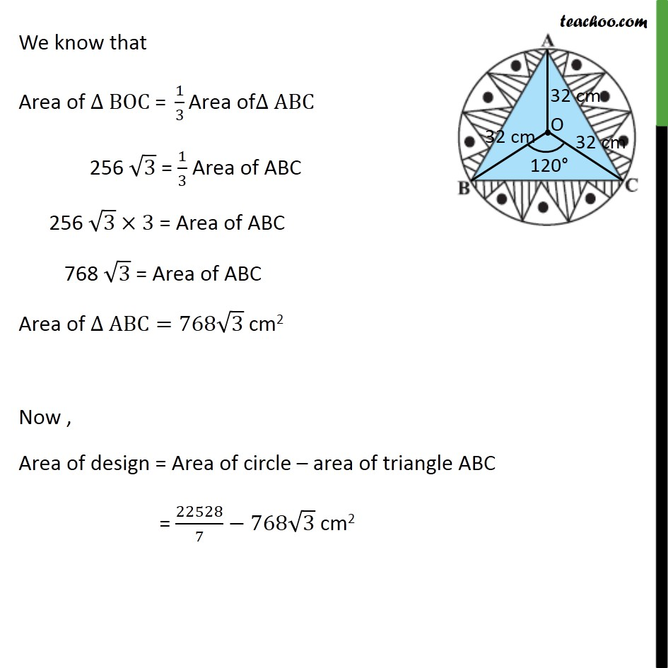 Ex 12.3, 6 - Chapter 12 Class 10 Areas related to Circles - Part 7