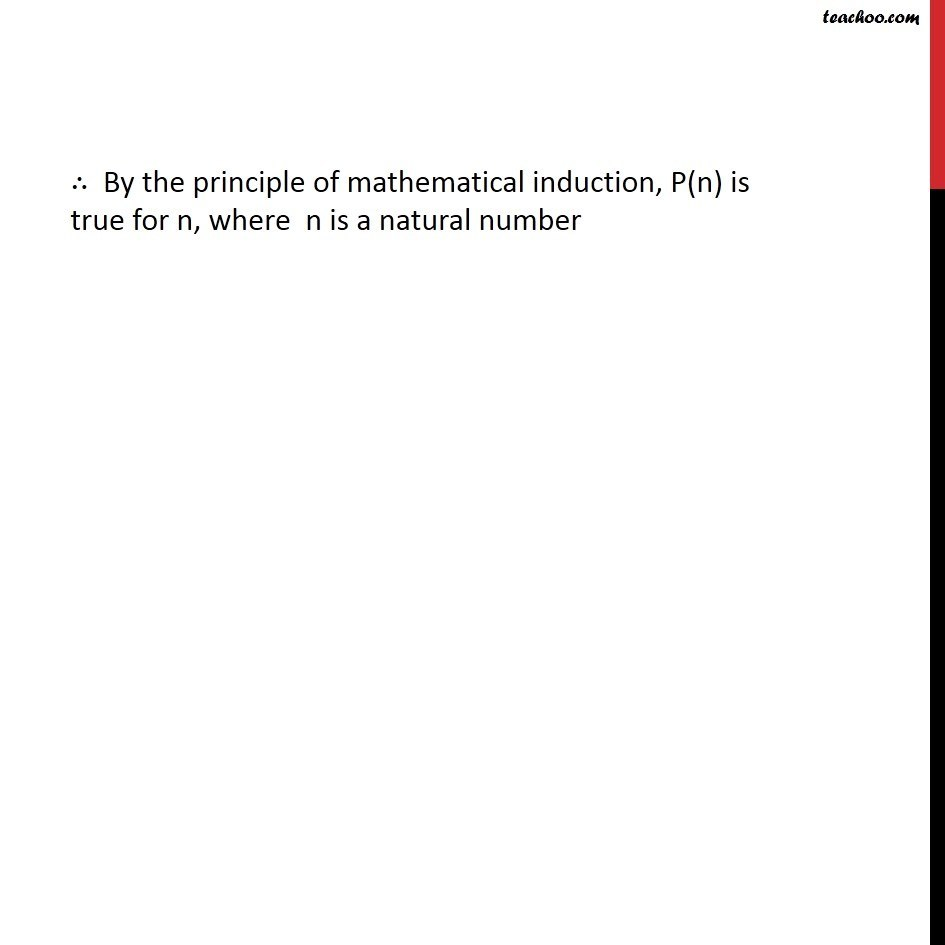 Example 8 - Chapter 4 Class 11 Mathematical Induction - Part 3