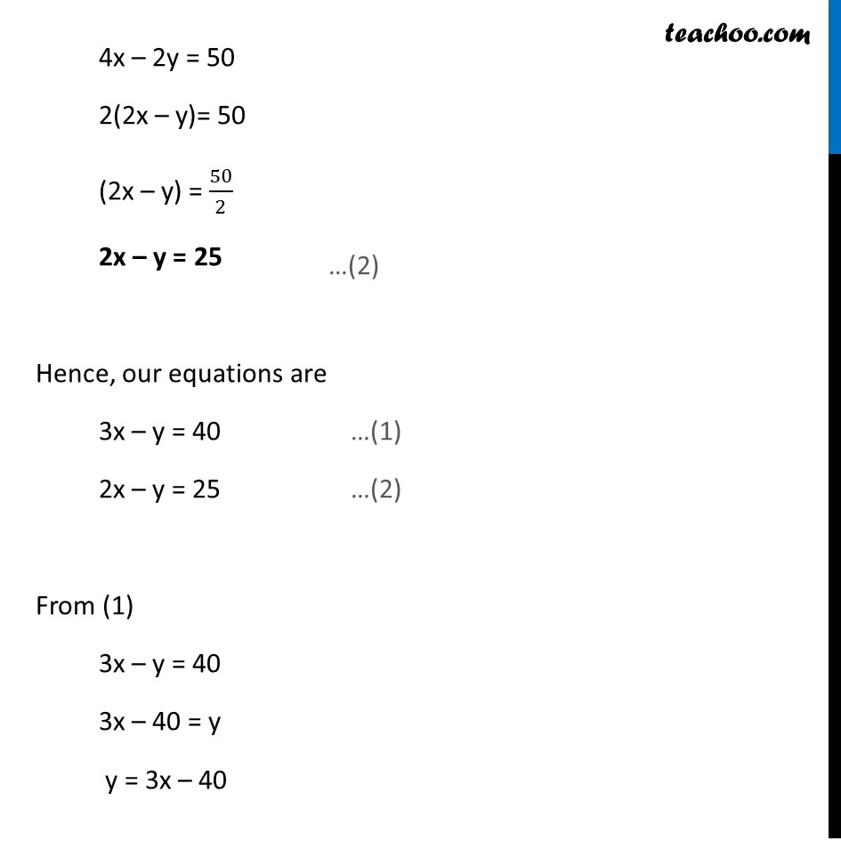 Ex 3.5, 4 (iii) - Chapter 3 Class 10 Pair of Linear Equations in Two Variables - Part 3