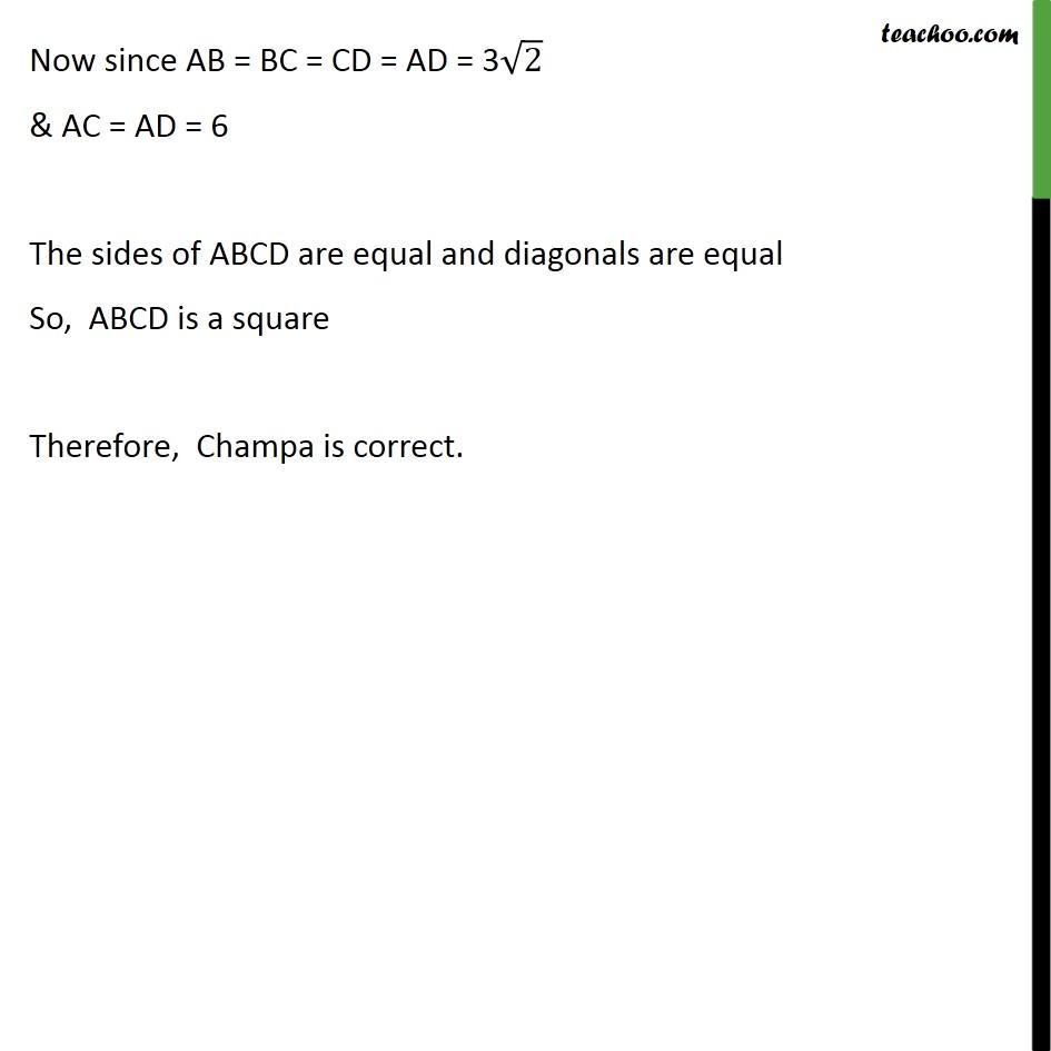 Ex 7.1, 5 - Chapter 7 Class 10 Coordinate Geometry - Part 8