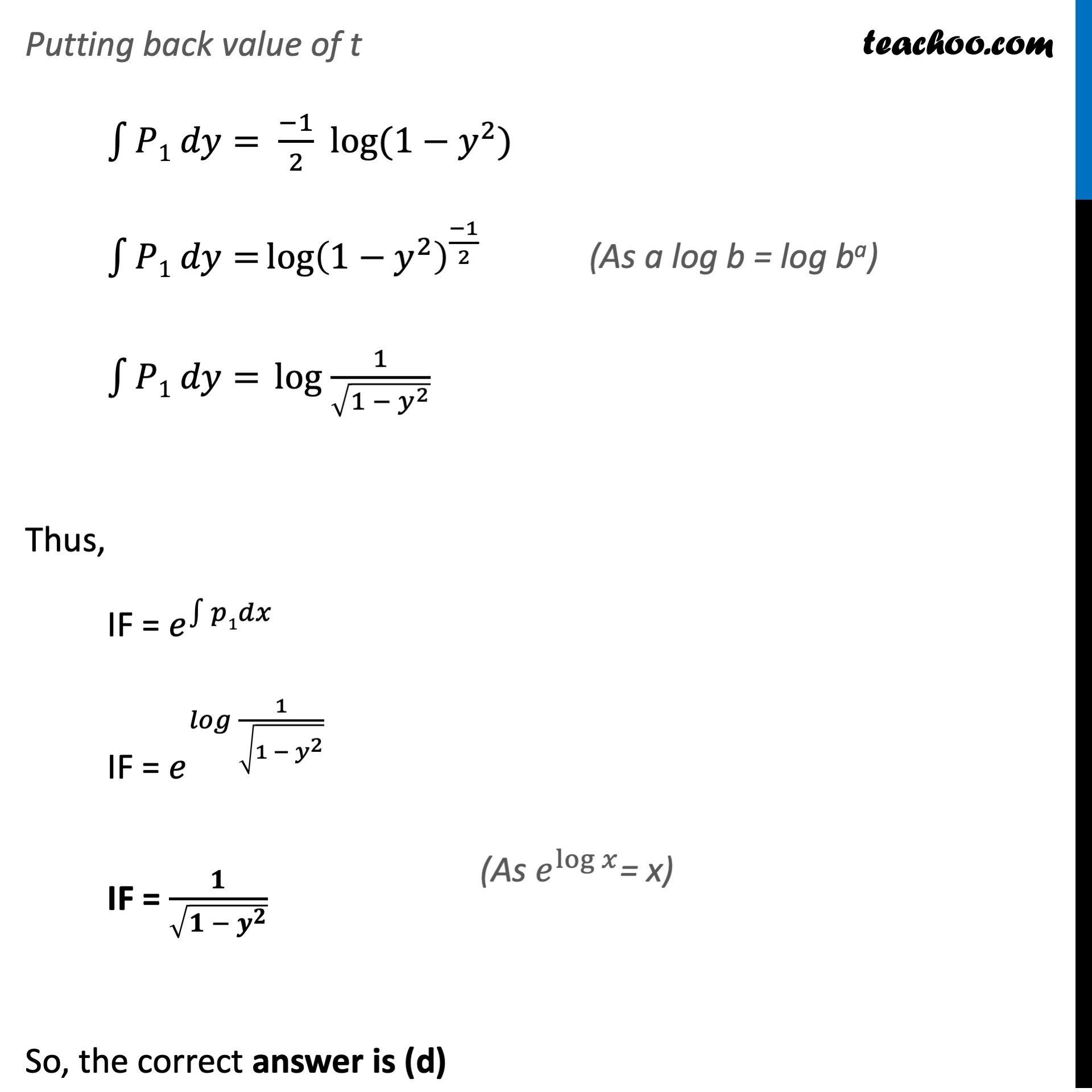 Ex 9.6, 19 - Class 12 - Part 3 - The correct answer is.jpeg