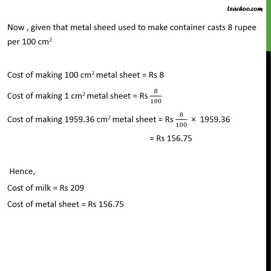 Ex 13.4, 4 - Chapter 13 Class 10 Surface Areas and Volumes - Part 6