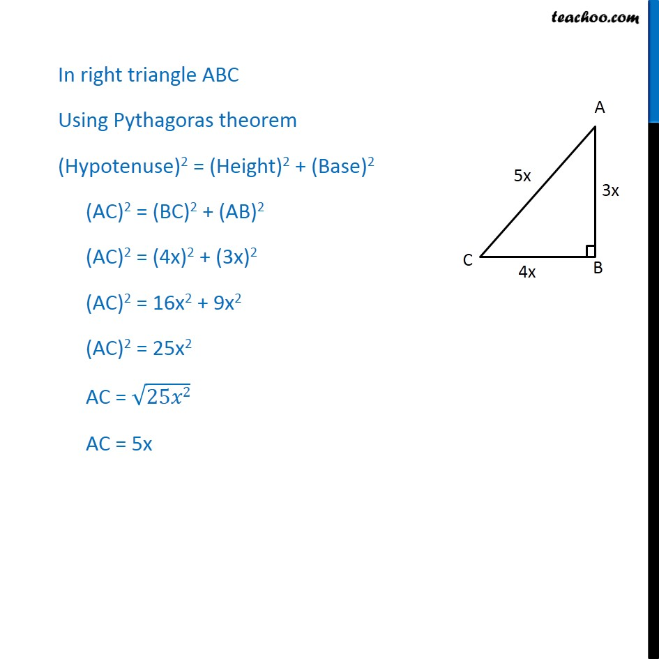 Example 1 - Chapter 8 Class 10 Introduction to Trignometry - Part 2