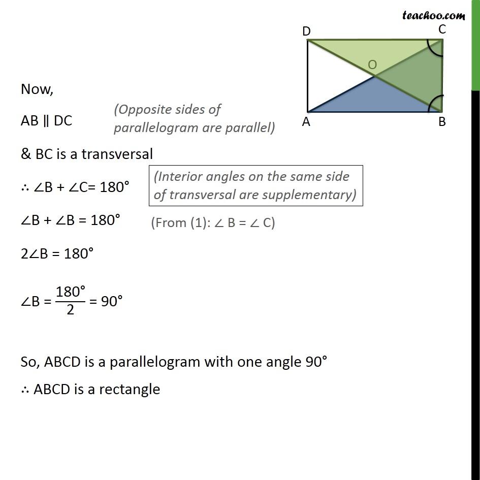Ex 8.1, 2 - Chapter 8 Class 9 Quadrilaterals - Part 2