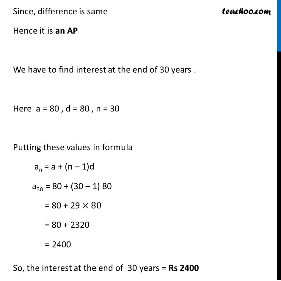 Example 9 - Chapter 5 Class 10 Arithmetic Progressions - Part 3