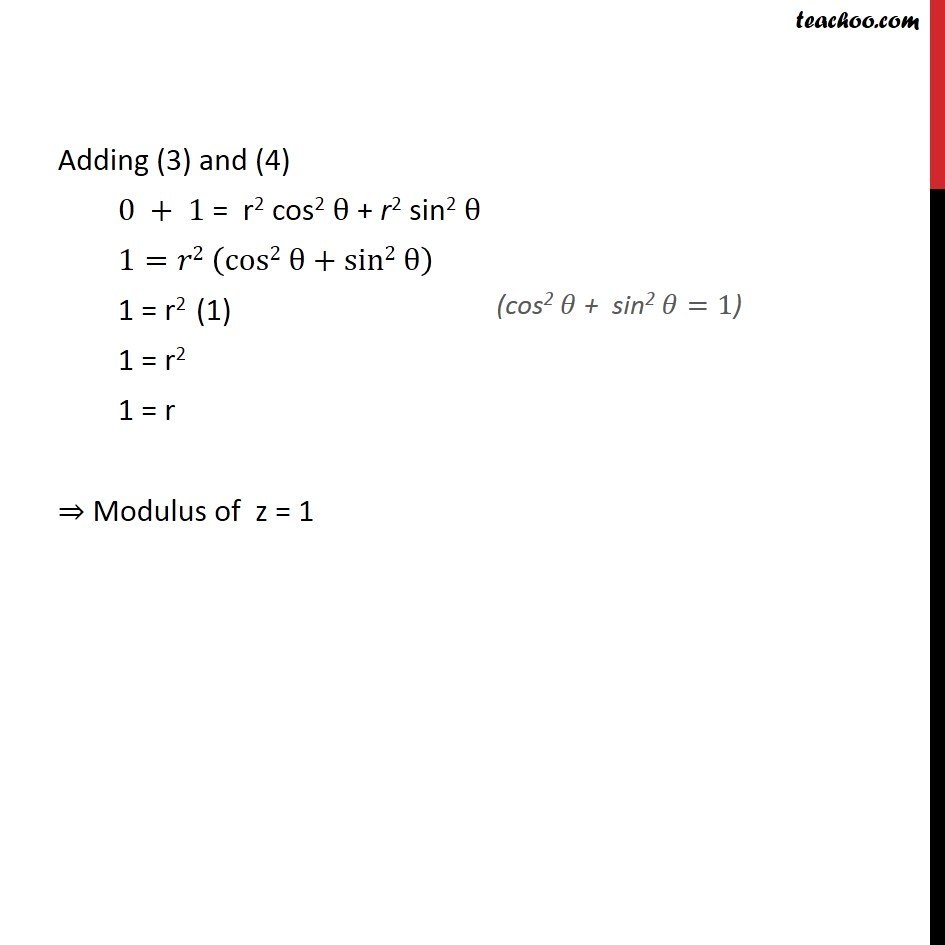 Example 13  - Chapter 5 Class 11 Complex Numbers - Part 5
