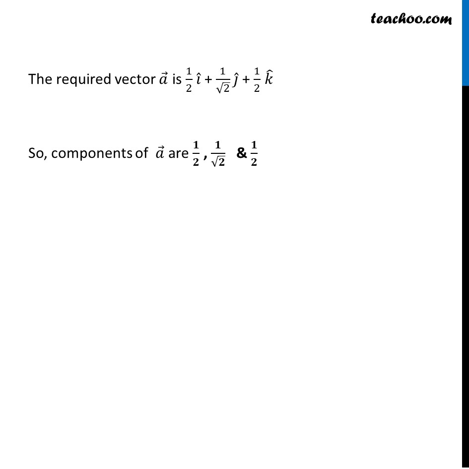 Ex 10.4, 3 - Chapter 10 Class 12 Vector Algebra - Part 5