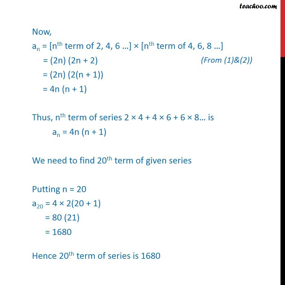 Misc 22 - Chapter 9 Class 11 Sequences and Series - Part 2