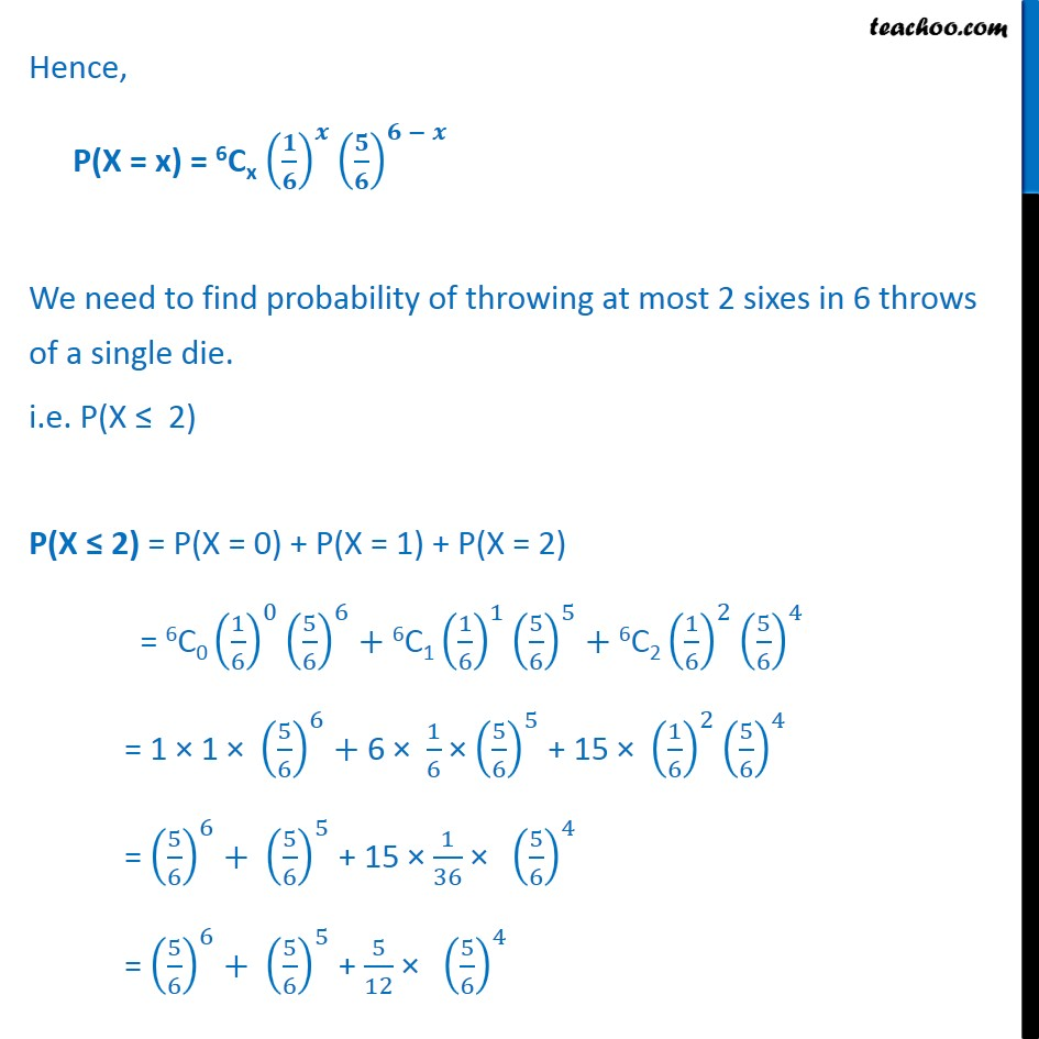 Ex 13.5, 12 - Chapter 13 Class 12 Probability - Part 2