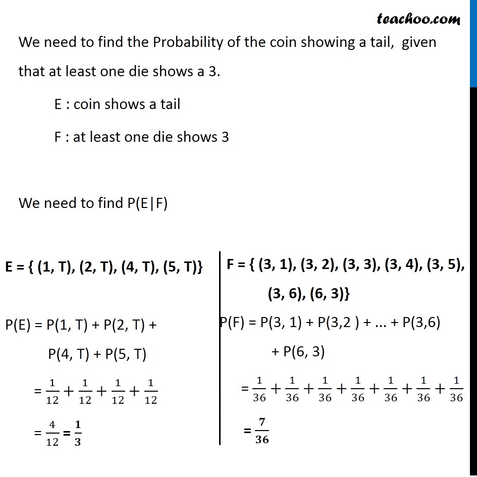 Ex 13.1, 15 - Chapter 13 Class 12 Probability - Part 4