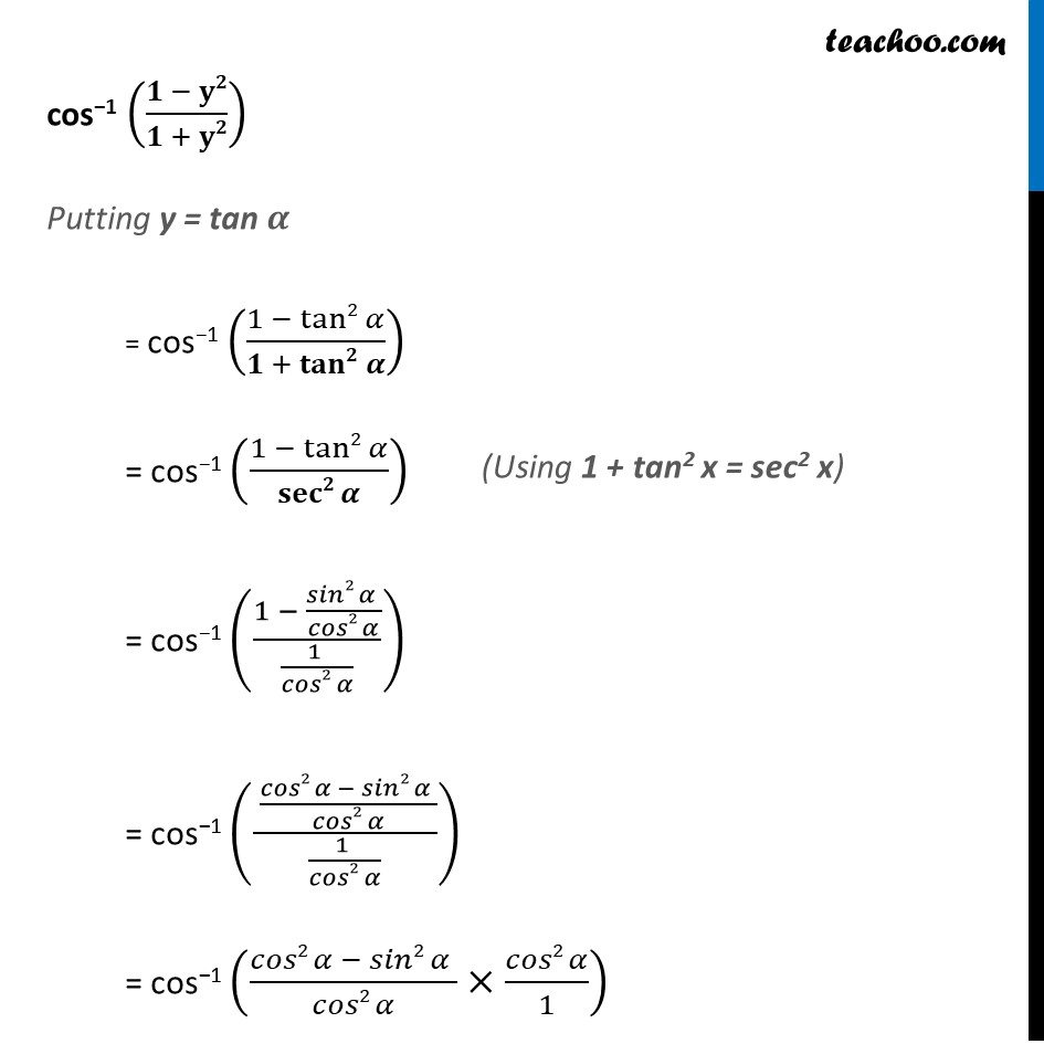 Ex 2.2, 13 - Chapter 2 Class 12 Inverse Trigonometric Functions - Part 3