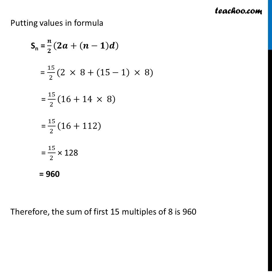 Ex 5.3, 13 - Chapter 5 Class 10 Arithmetic Progressions - Part 2