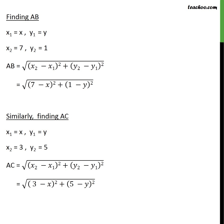 Example 4 - Chapter 7 Class 10 Coordinate Geometry - Part 2