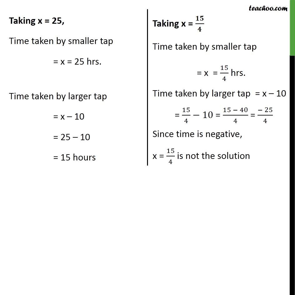 Ex 4.3, 9 - Chapter 4 Class 10 Quadratic Equations - Part 6