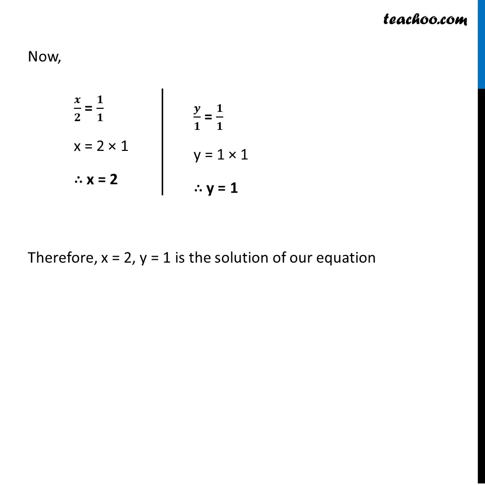 Ex 3.5, 1 - Chapter 3 Class 10 Pair of Linear Equations in Two Variables - Part 6