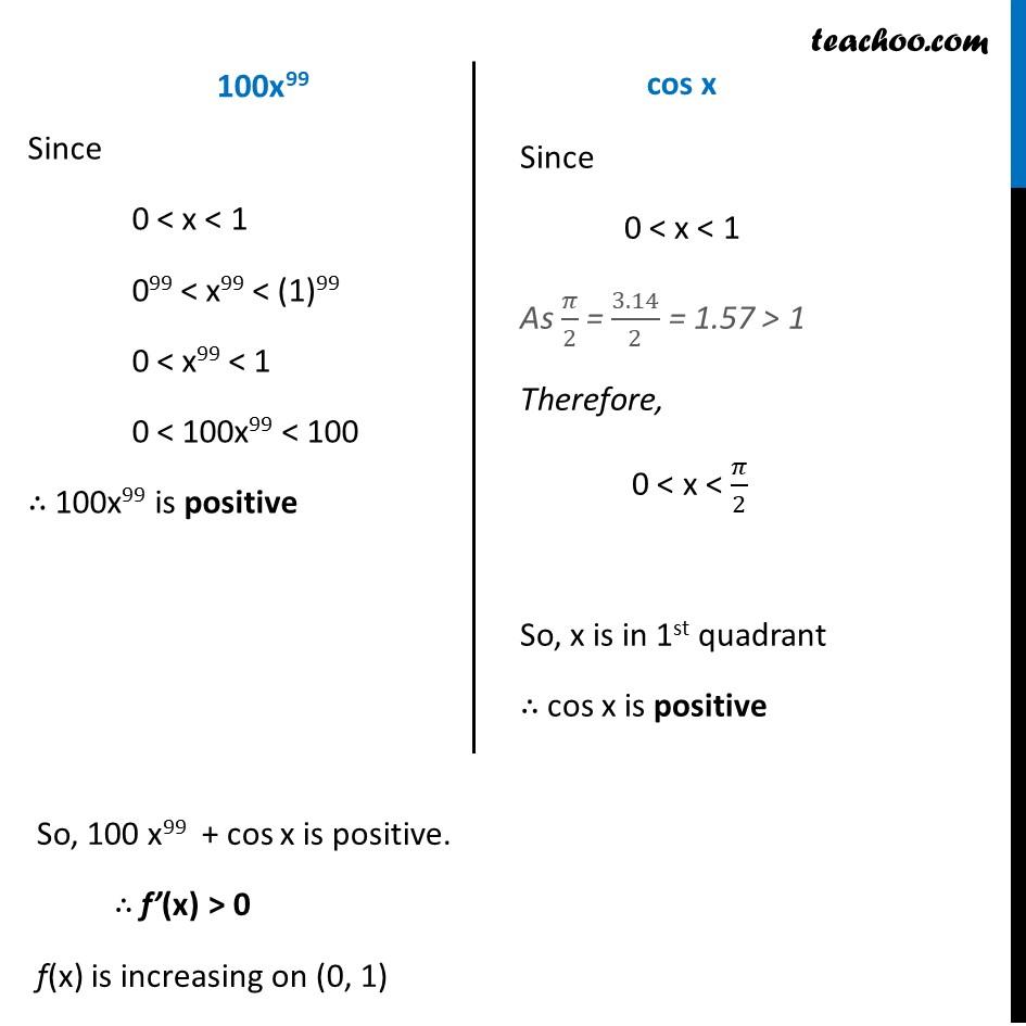 Ex 6.2,13 - Chapter 6 Class 12 Application of Derivatives - Part 2