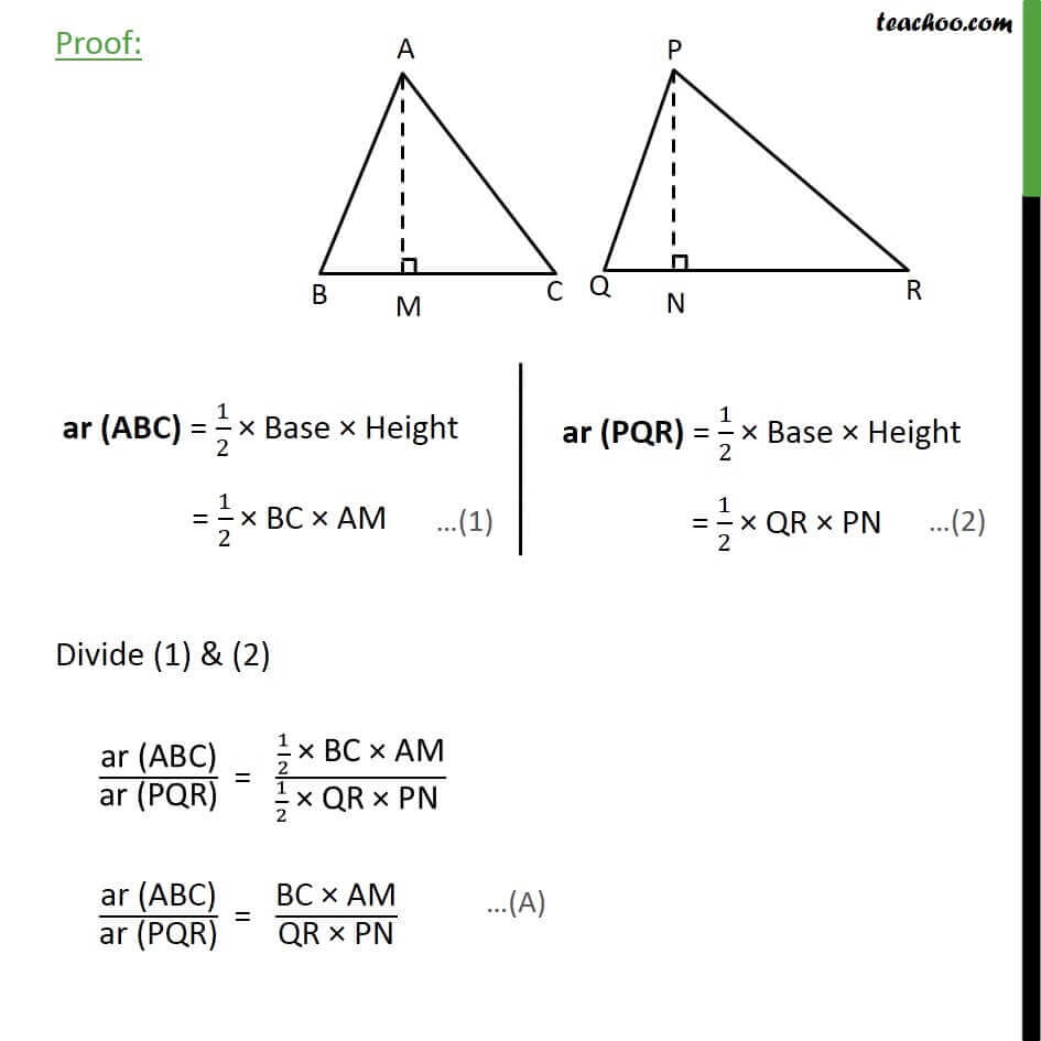 2 Theorem 6.7 if perpendicular is drawn from the vertex of the right angle of right triangle to the hypotenuse.jpg