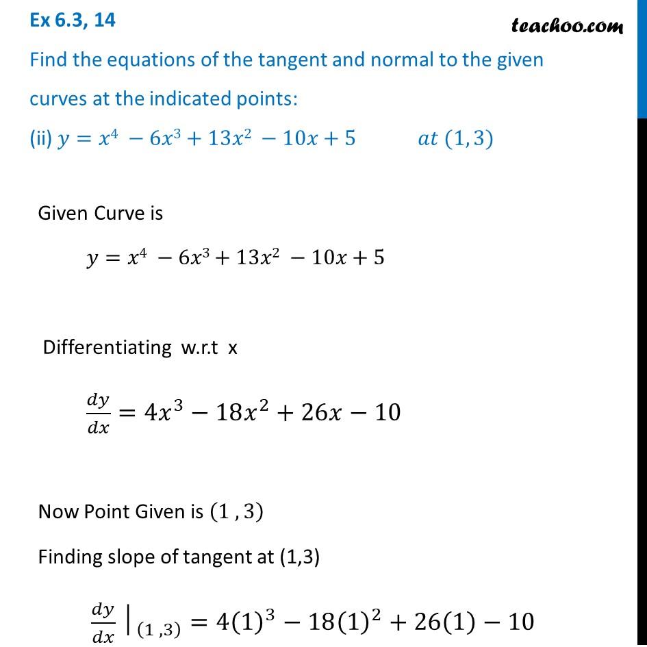 Ex 6.3,14 - Chapter 6 Class 12 Application of Derivatives - Part 4