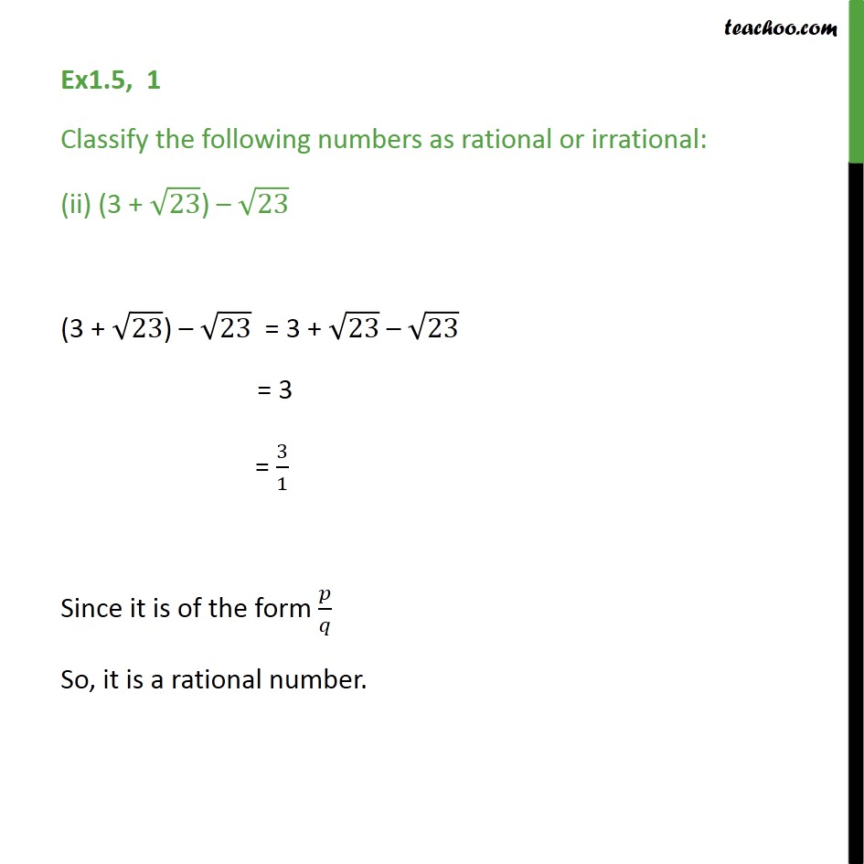 Ex 1.5,1 - Chapter 1 Class 9 Number Systems - Part 2