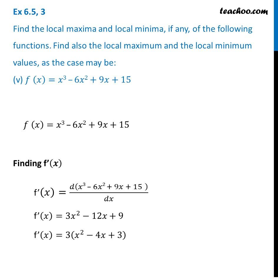 Ex 6.5,3 - Chapter 6 Class 12 Application of Derivatives - Part 17