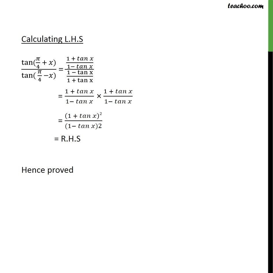 Ex 3.3, 7 - Chapter 3 Class 11 Trigonometric Functions - Part 2