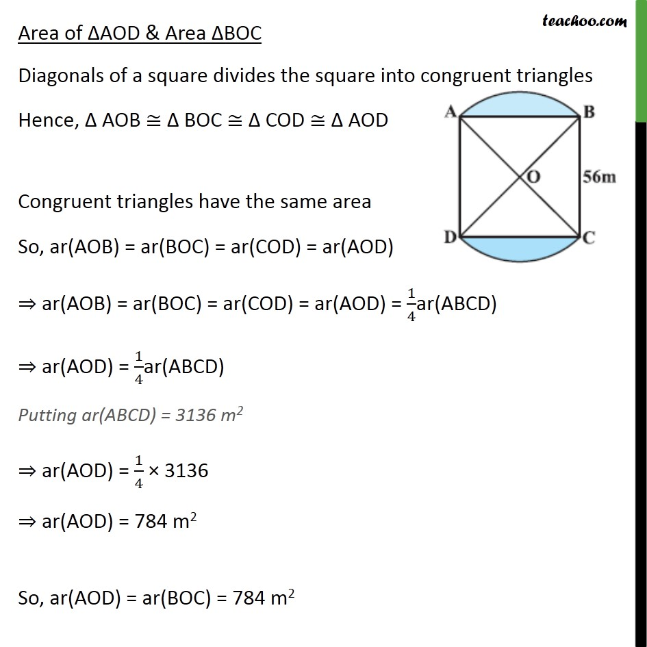 Example 4 - Chapter 12 Class 10 Areas related to Circles - Part 7