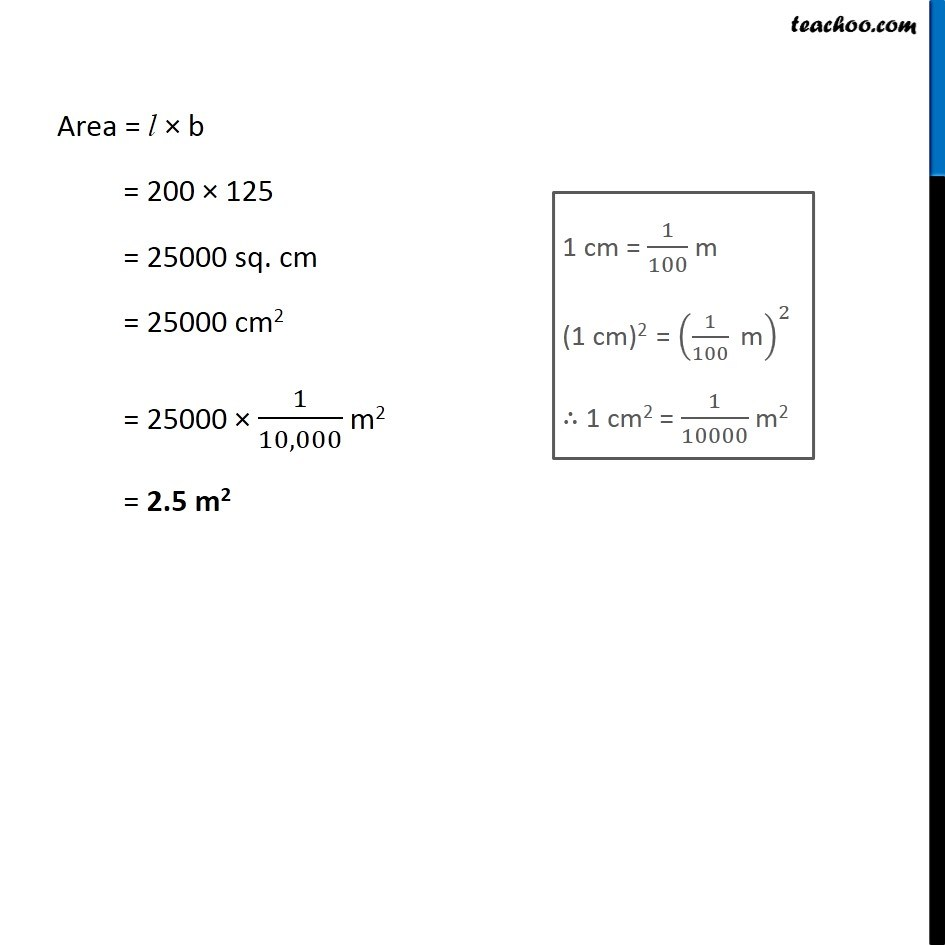 Example 17 - Chapter 10 Class 6 Mensuration - Part 2