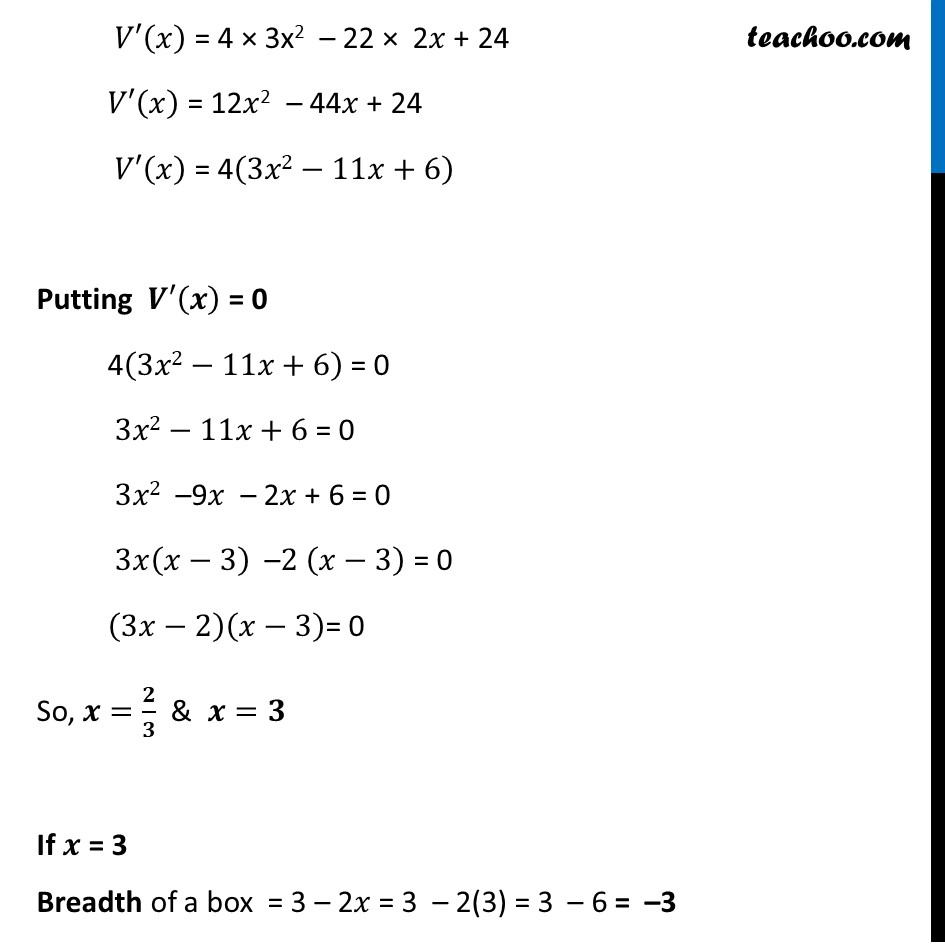 Example 50 - Chapter 6 Class 12 Application of Derivatives - Part 3