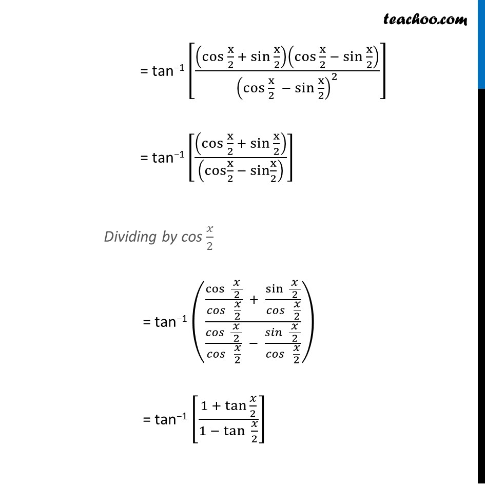Example 5 - Chapter 2 Class 12 Inverse Trigonometric Functions - Part 3