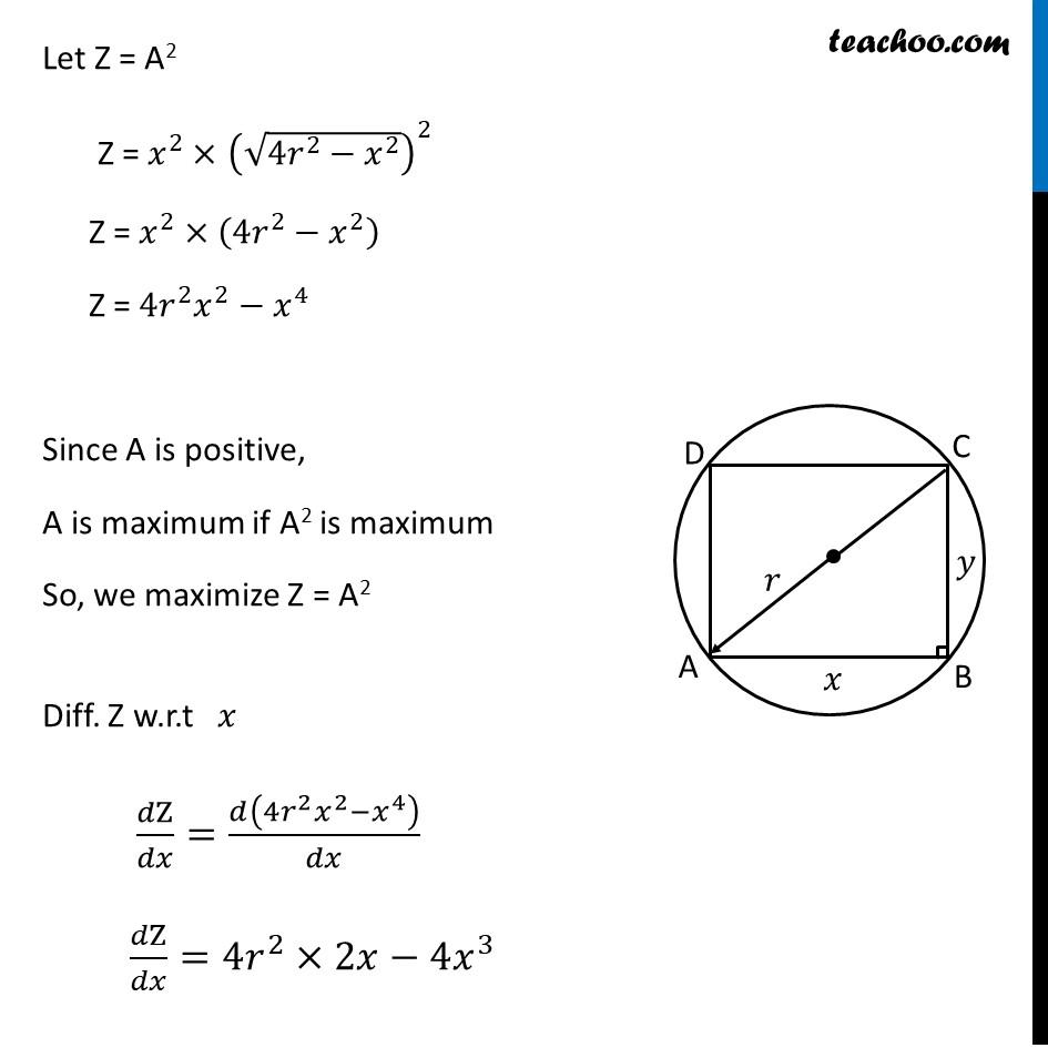 Ex 6.5,19 - Chapter 6 Class 12 Application of Derivatives - Part 3