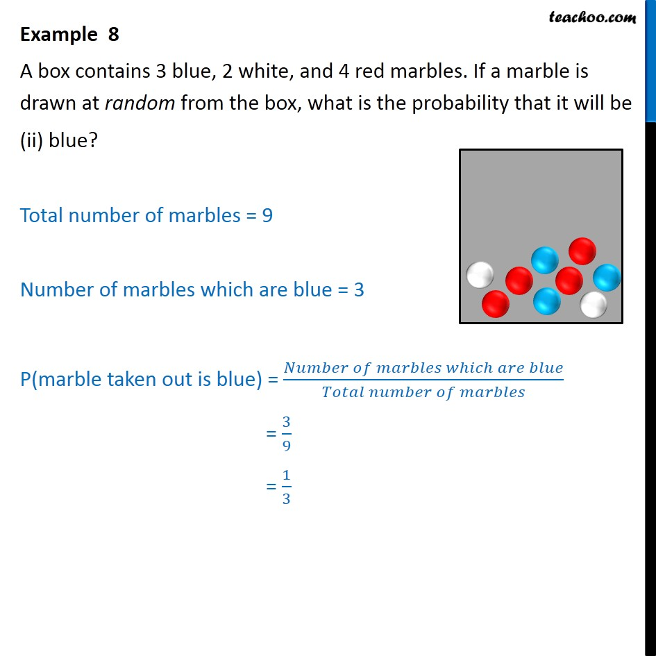 Example 8 - Chapter 15 Class 10 Probability - Part 2
