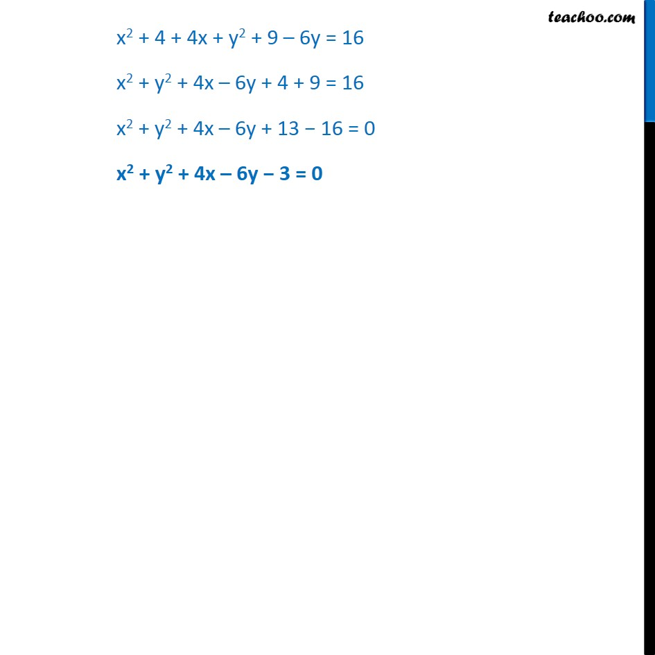 Ex 11.1,  2 - Chapter 11 Class 11 Conic Sections - Part 2
