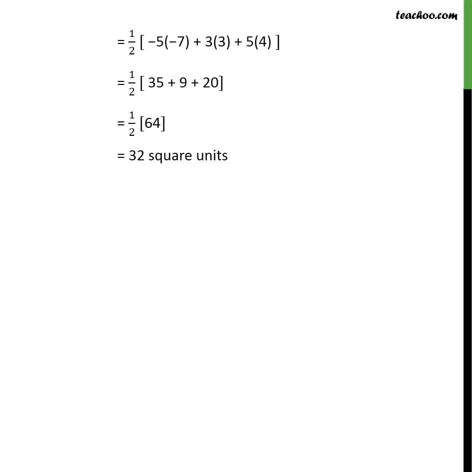 Ex 7.3, 1 - Chapter 7 Class 10 Coordinate Geometry - Part 4