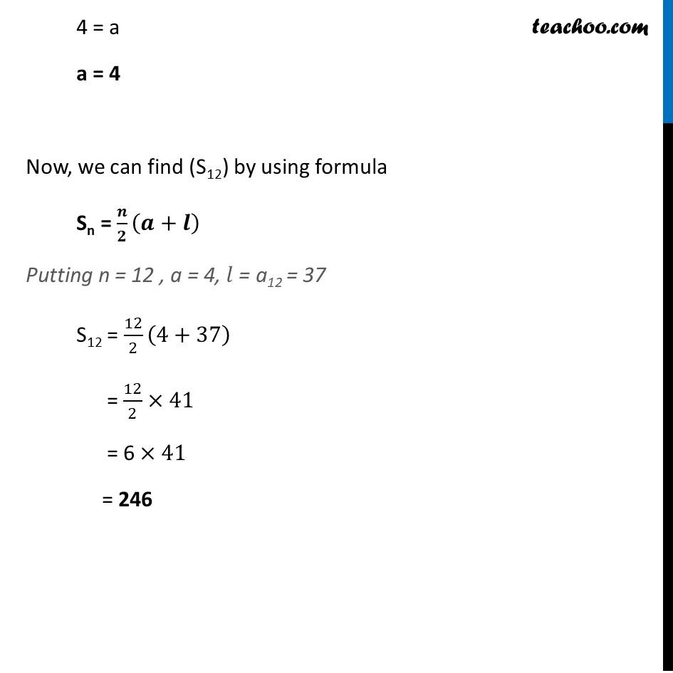 Ex 5.3, 3 - Chapter 5 Class 10 Arithmetic Progressions - Part 6