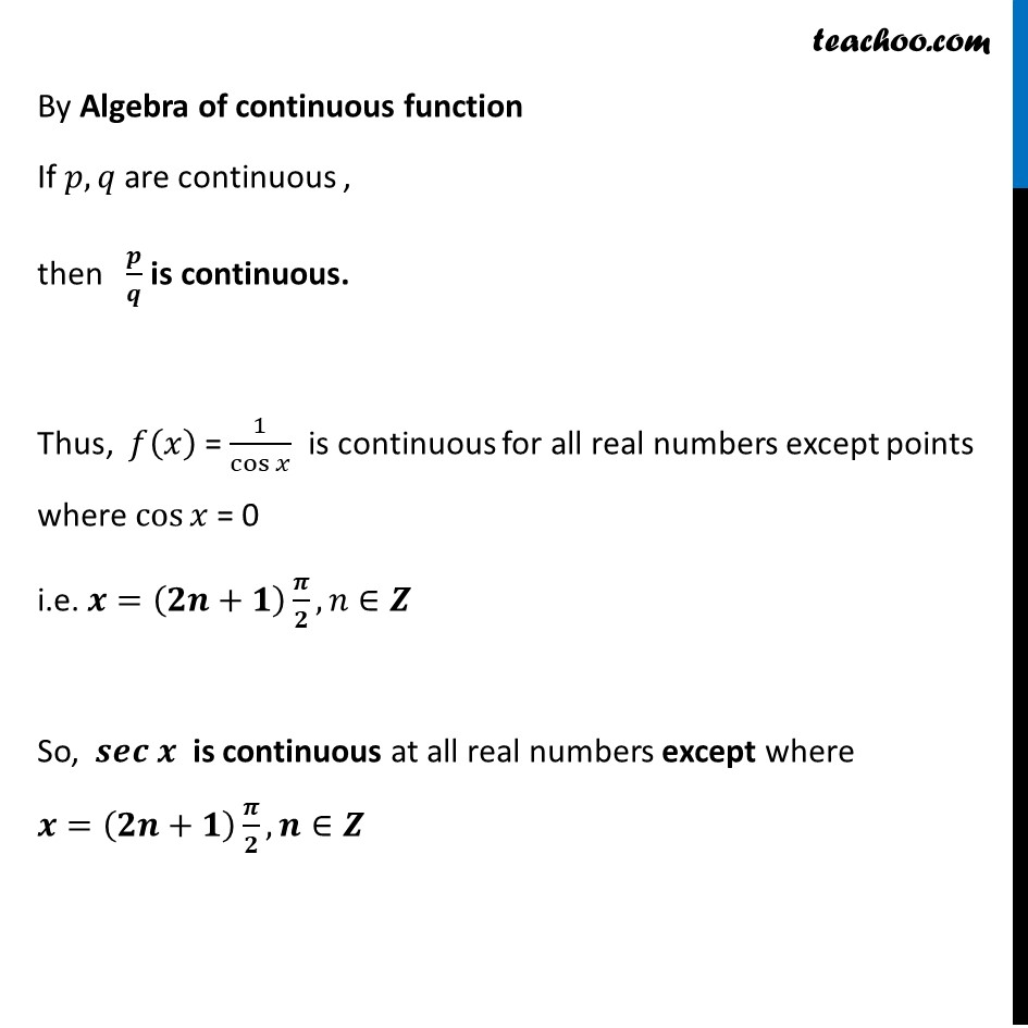 Ex 5.1, 22 (iii) - Chapter 5 Class 12 Continuity and Differentiability - Part 2
