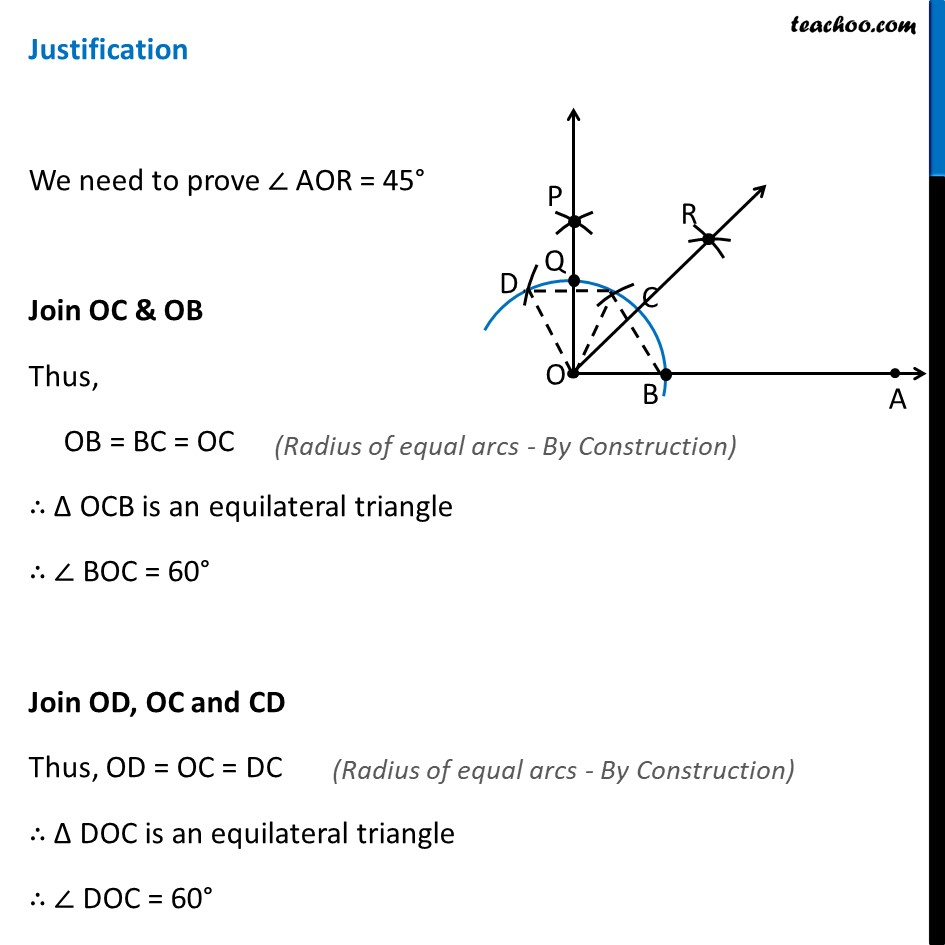 Ex 11.1, 2 - Chapter 11 Class 9 Constructions - Part 5