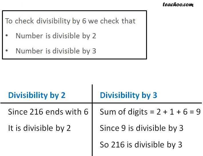 Divisibility by 6 - Part 4