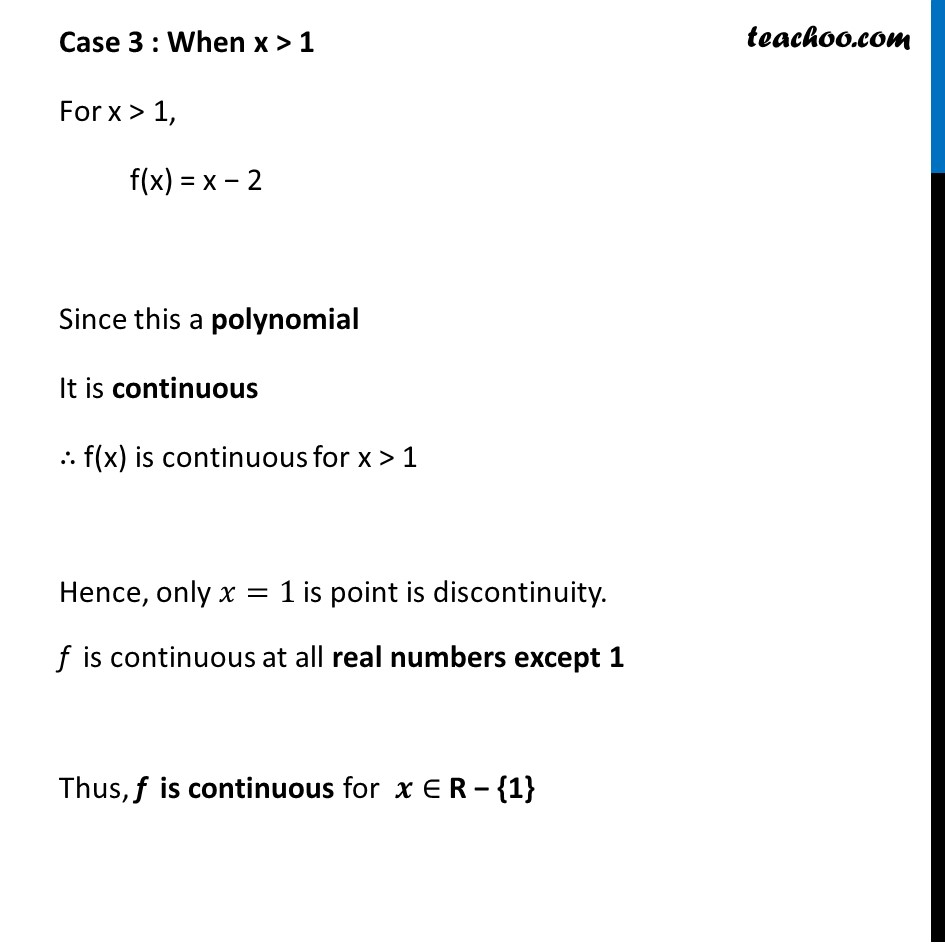 Example 11 - Chapter 5 Class 12 Continuity and Differentiability - Part 4