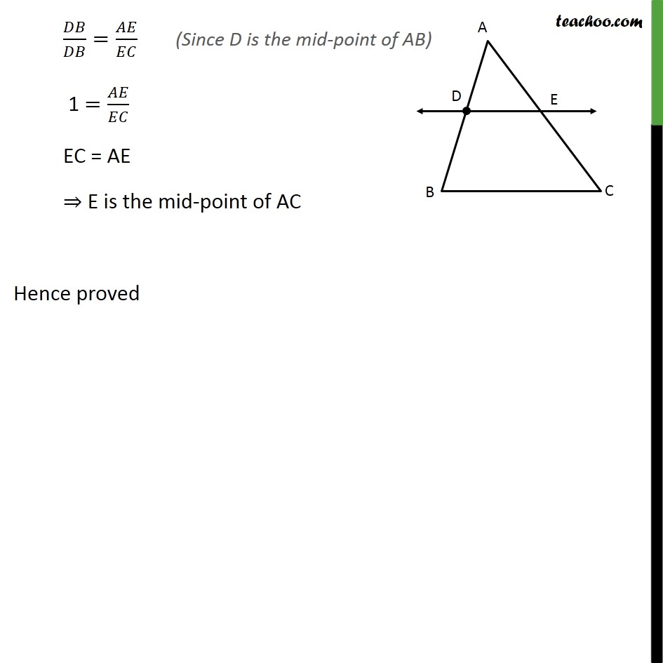 Ex 6.2, 7 - Chapter 6 Class 10 Triangles - Part 2